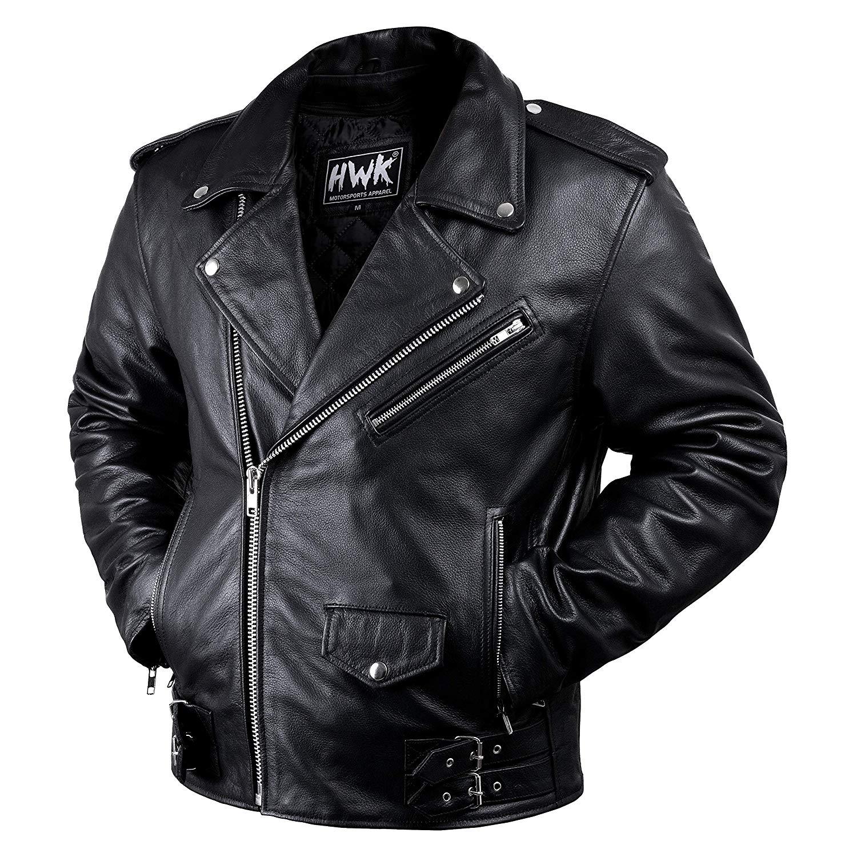 Leather Vintage Brando Best Motorcycle Jacket