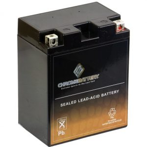 Chrome Battery YTX14AHL-BS