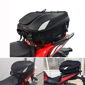 JFG Racing Motorcycle Seat Bag Tail Bag