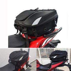 JFG Racing Motorcycle Seat Bag Tail Bag