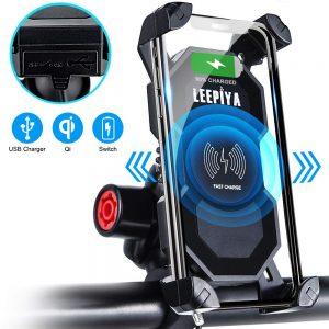 Leepiya Phone Mount with Wireless Charger
