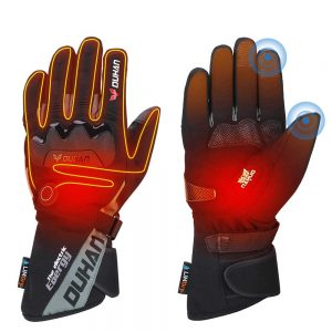 LimDry Winter Heated Gloves Best Heated Motorcycle Gloves