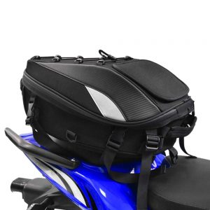 Motorcycle Seat Bag Tail Backpack