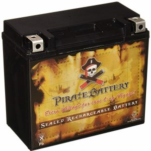 Pirate Battery YTX20L-BS Best Motorcycle Battery