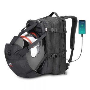 Snowmobile Helmet Backpack